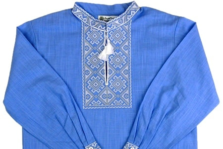 Вишита футболка гладдю «Сніжинка» М-616 купити у Львові 583a238b351f8
