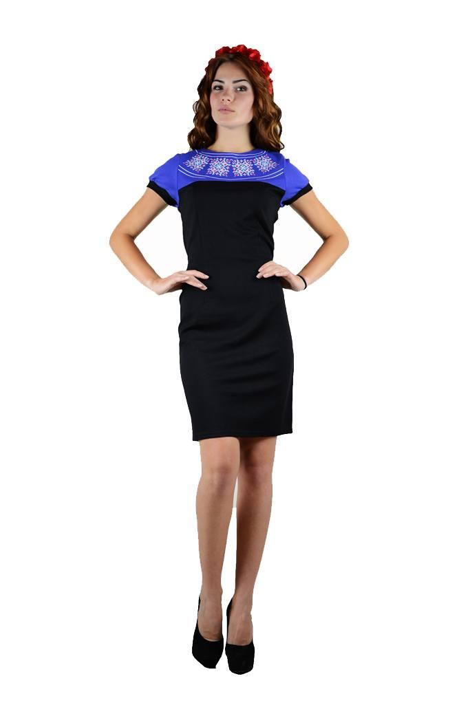 Плаття вишите гладдю «Маки 3D» М-1025-1 купити у Львові e4bc88ef5c375